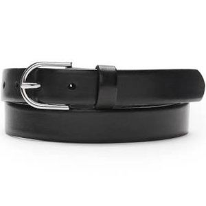 Banana Republic Black Leather Trouser Belt